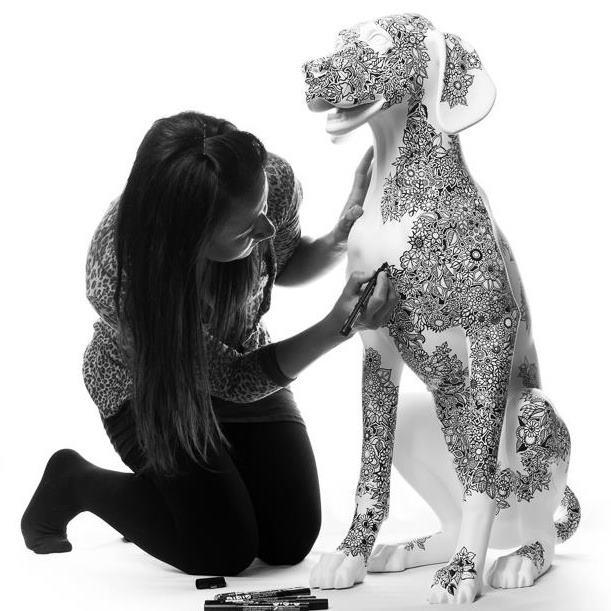 Posca-Pup-Johanna-Basford