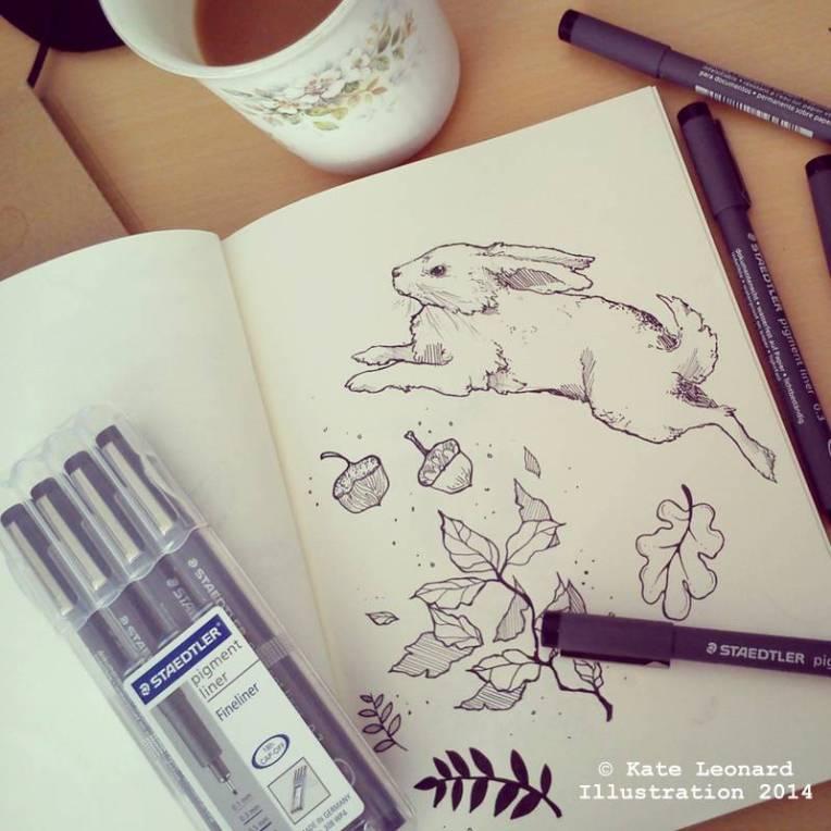 sketch desk image k leonard
