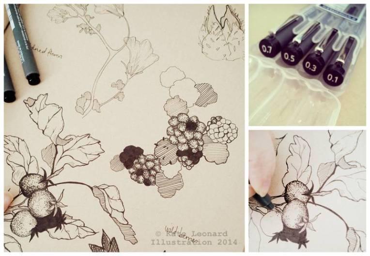 Illustration collage k leonard